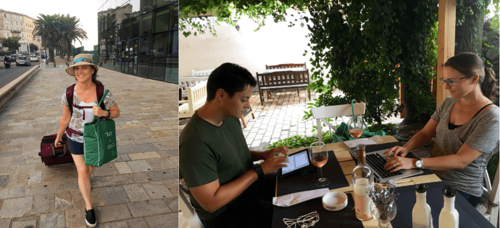 living our alternative 'American Dream' by living and working remotely
