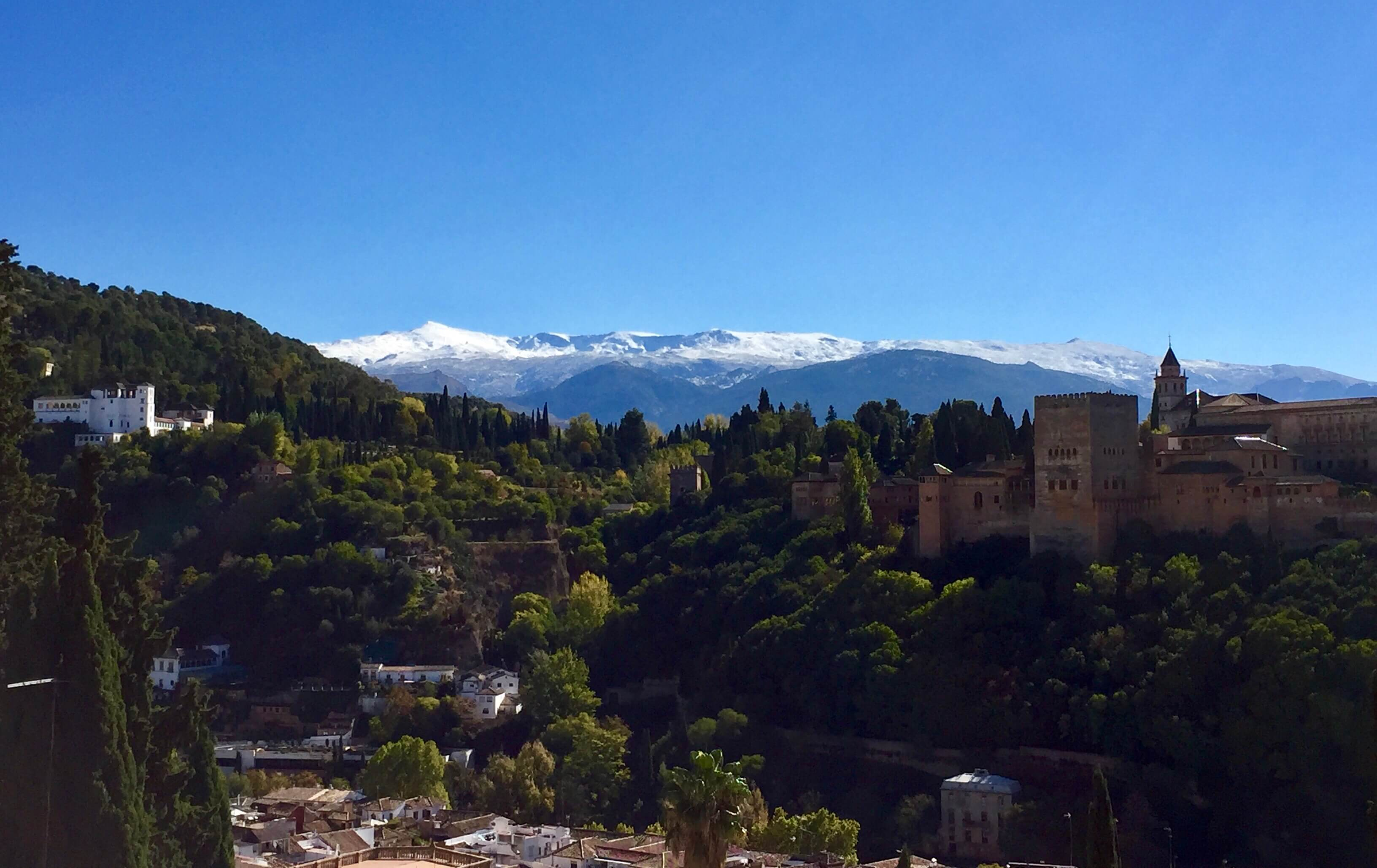 vista of Alhambra, Granada