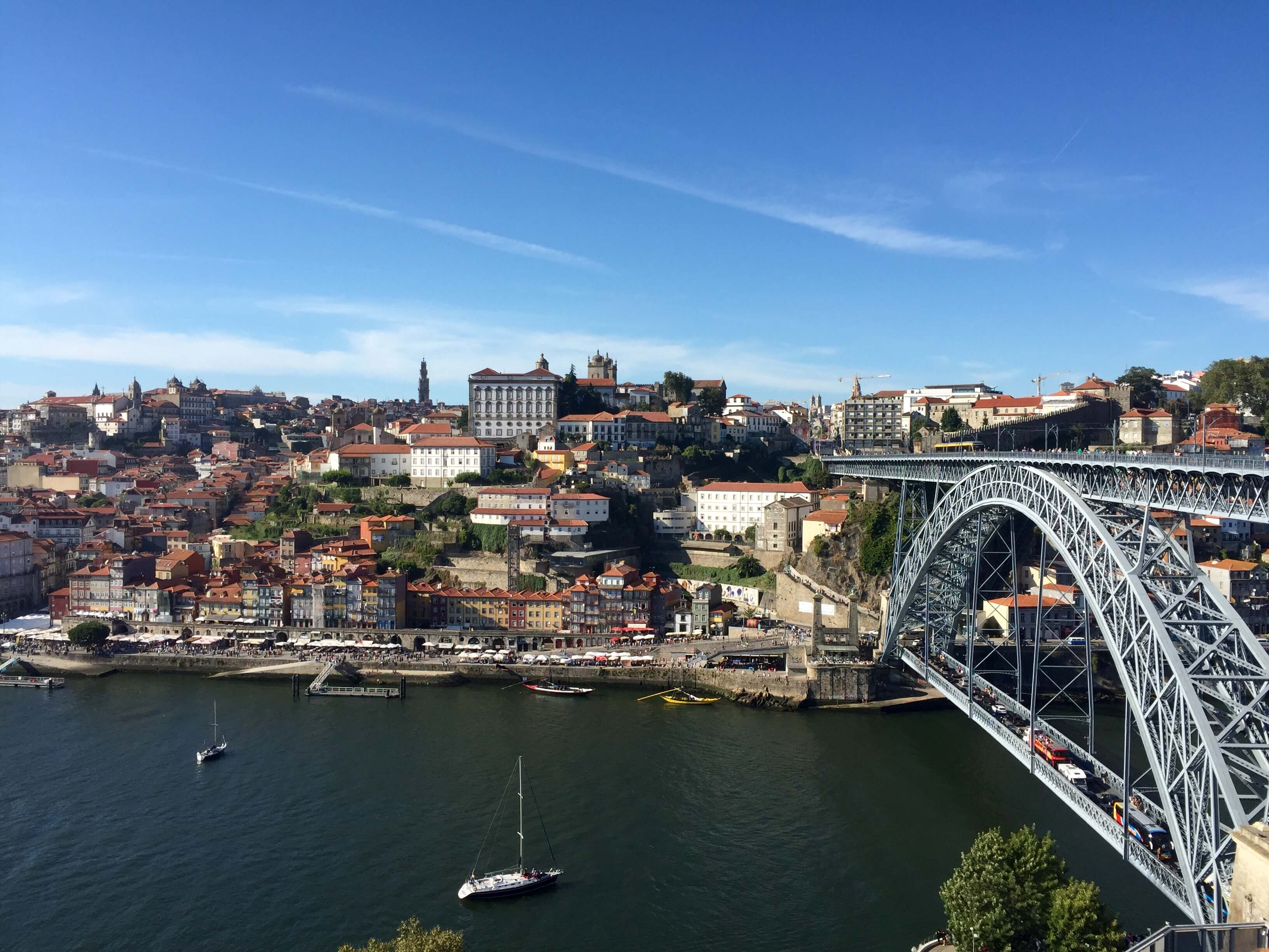 Porto, Portugal from above