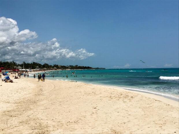beach in Playa del Carmen