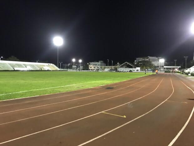 Deportivo Mario Villanueva Madrid track in Playa del Carmen