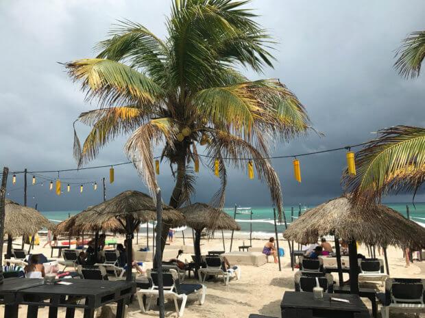 KSM Beach Club in Xpu Ha, Mexico