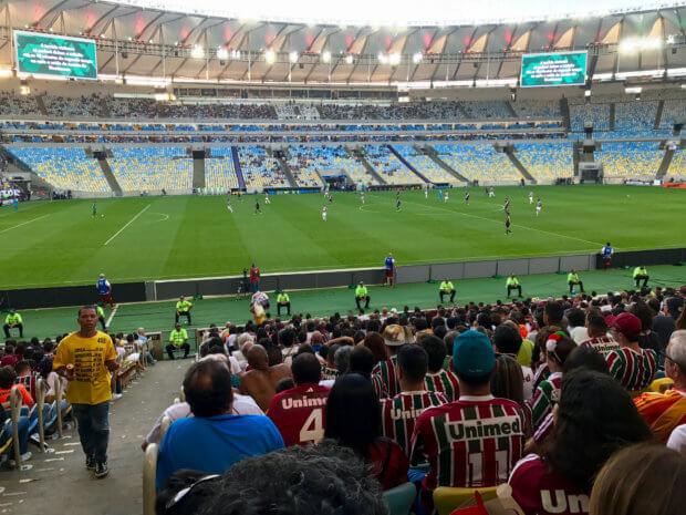 Fluminense vs. Vasco de Gama at Maracanã stadium