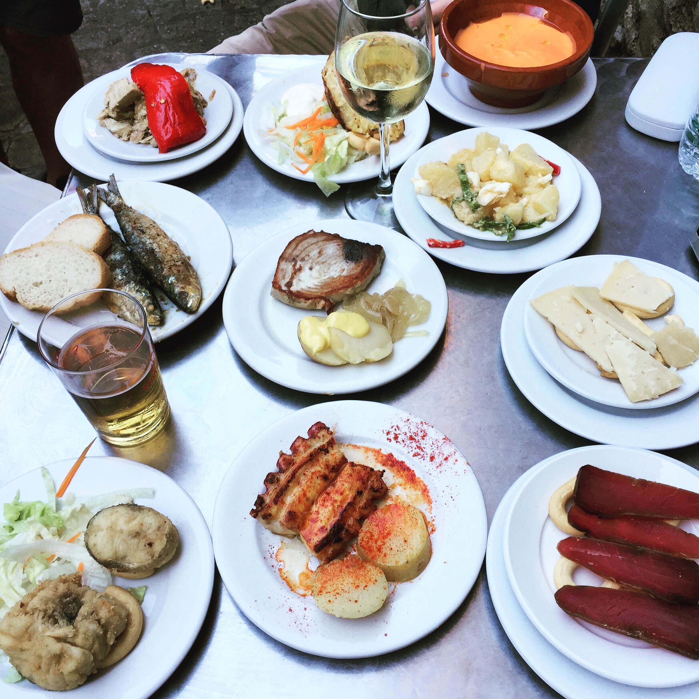 food adventures in Seville