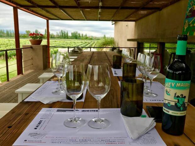 Bodega Matías Riccitelli winery in Luján de Cuyo, Mendoza