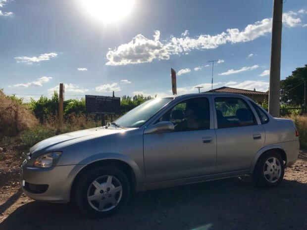 Hertz rental car in Mendoza